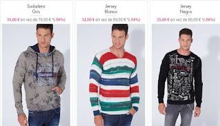 jerseis y sudaderas de Desigual para chico