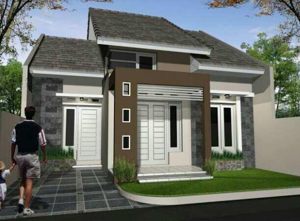 Konsep arsitektur rumah minimalis 1 lantai