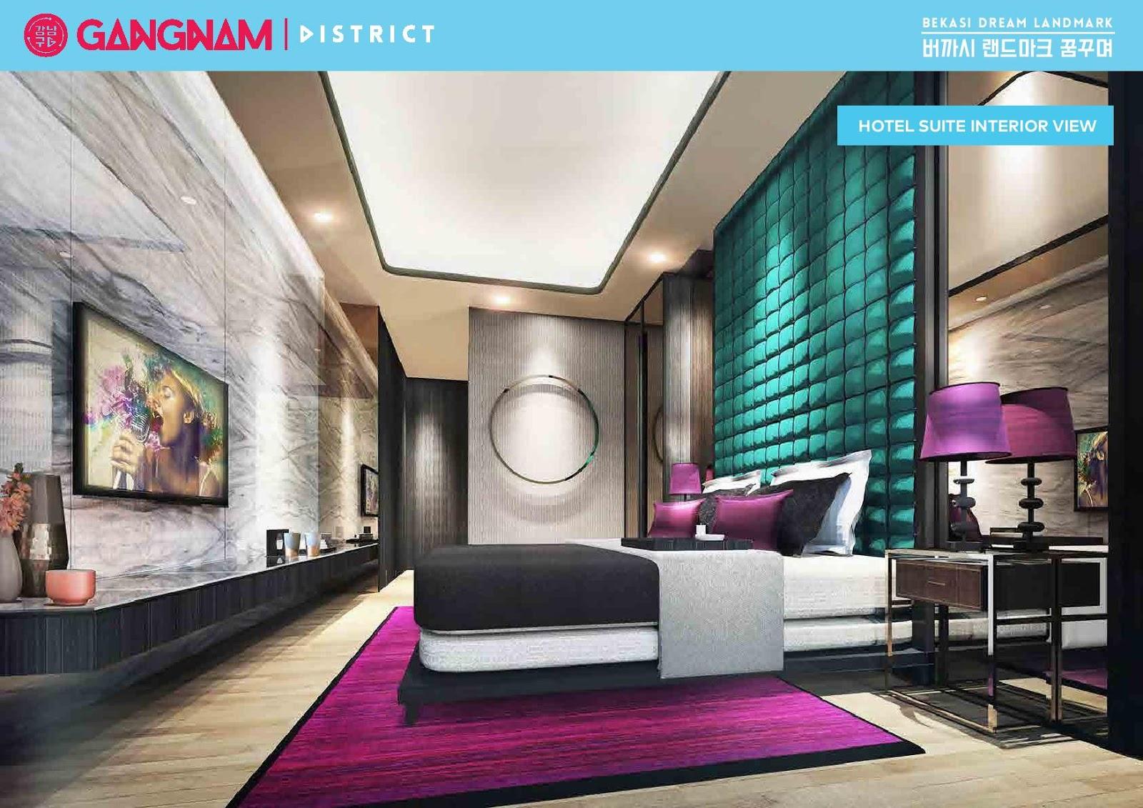 Galery Apartemen Gangnam District Bekasi