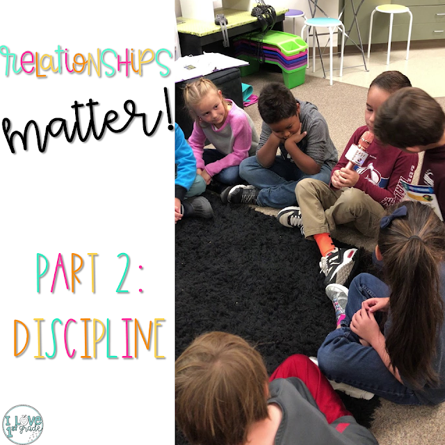 discipline in the primary classroom