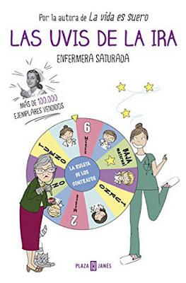 LIBRO - Las uvis de la ira : Enfermera Saturada   (13 octubre 2016) HUMOR  Edición papel & digital ebook kindle  Comprar en Amazon España