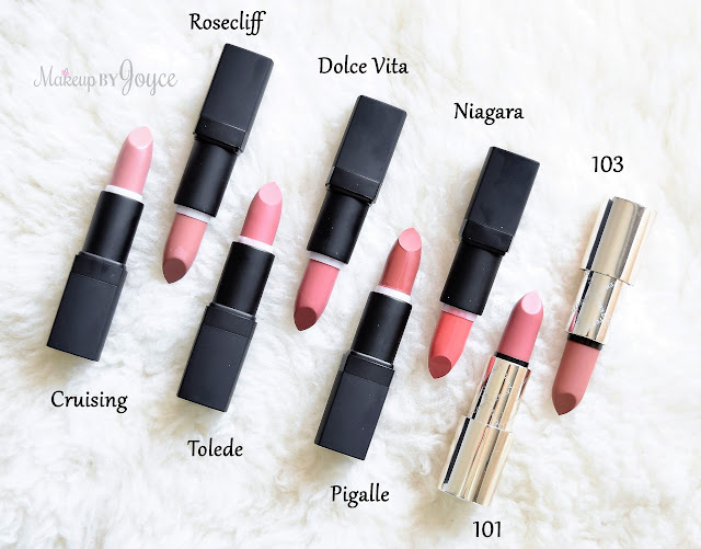 Nars Lipstick Collection Haul Swatches Review