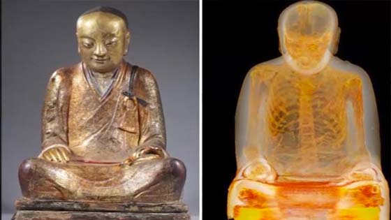 Sesuatu yang Mengejutkan Ada di Dalam Patung Berusia 1000 Tahun Ini