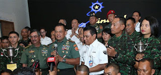 Panglima TNI: Prestasi Petembak TNI AD Gunakan Produk Bangsa Sendiri