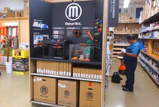 Next Big Future Home Depot To Sell 3d Printers