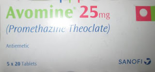 avomine 25mg tablet