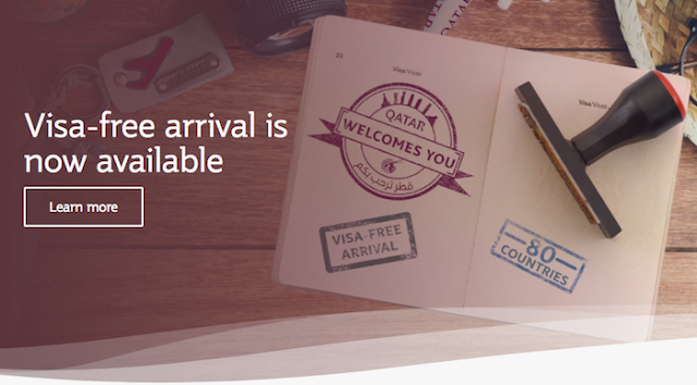 Qatar Visa Free on Arrival