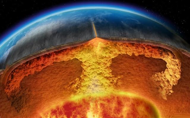 Στο εσωτερικό της Γης υπάρχουν βουνά μεγαλύτερα και από το Έβερεστ (βίντεο)