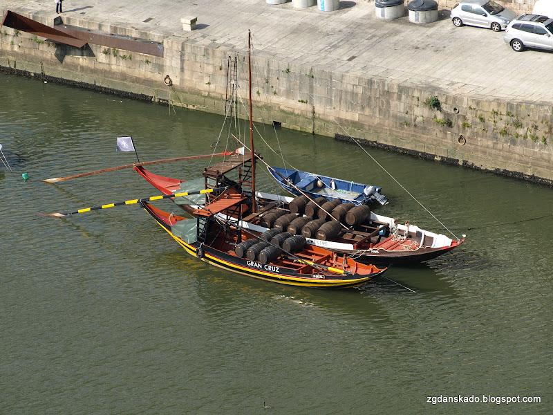 Porto - Widok na Ribeirę