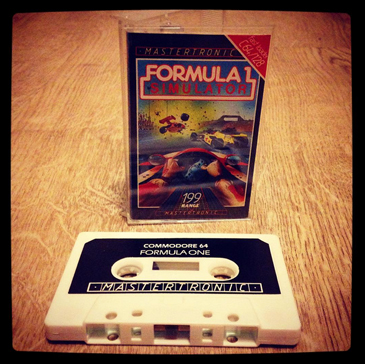 Formula One Simulator Commodore 64