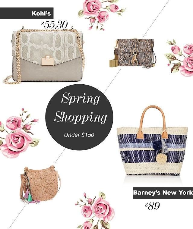 Favorite bag finds for Spring