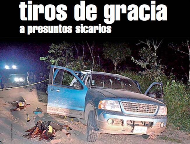 Soldados y Fuerzas del Orden ejecutaron a Sicarios en Veracruz