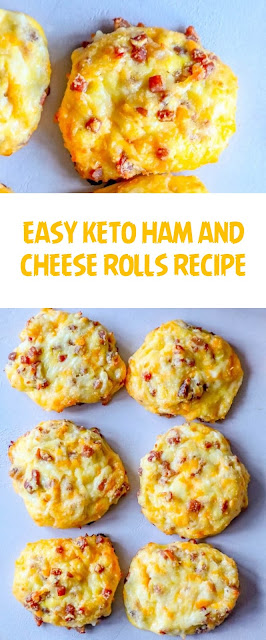 EASY KETO HAM AND CHEESE ROLLS RECIPE
