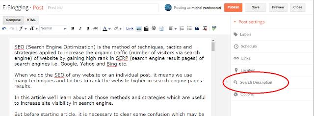 SEO Strategies Plan, Part-I