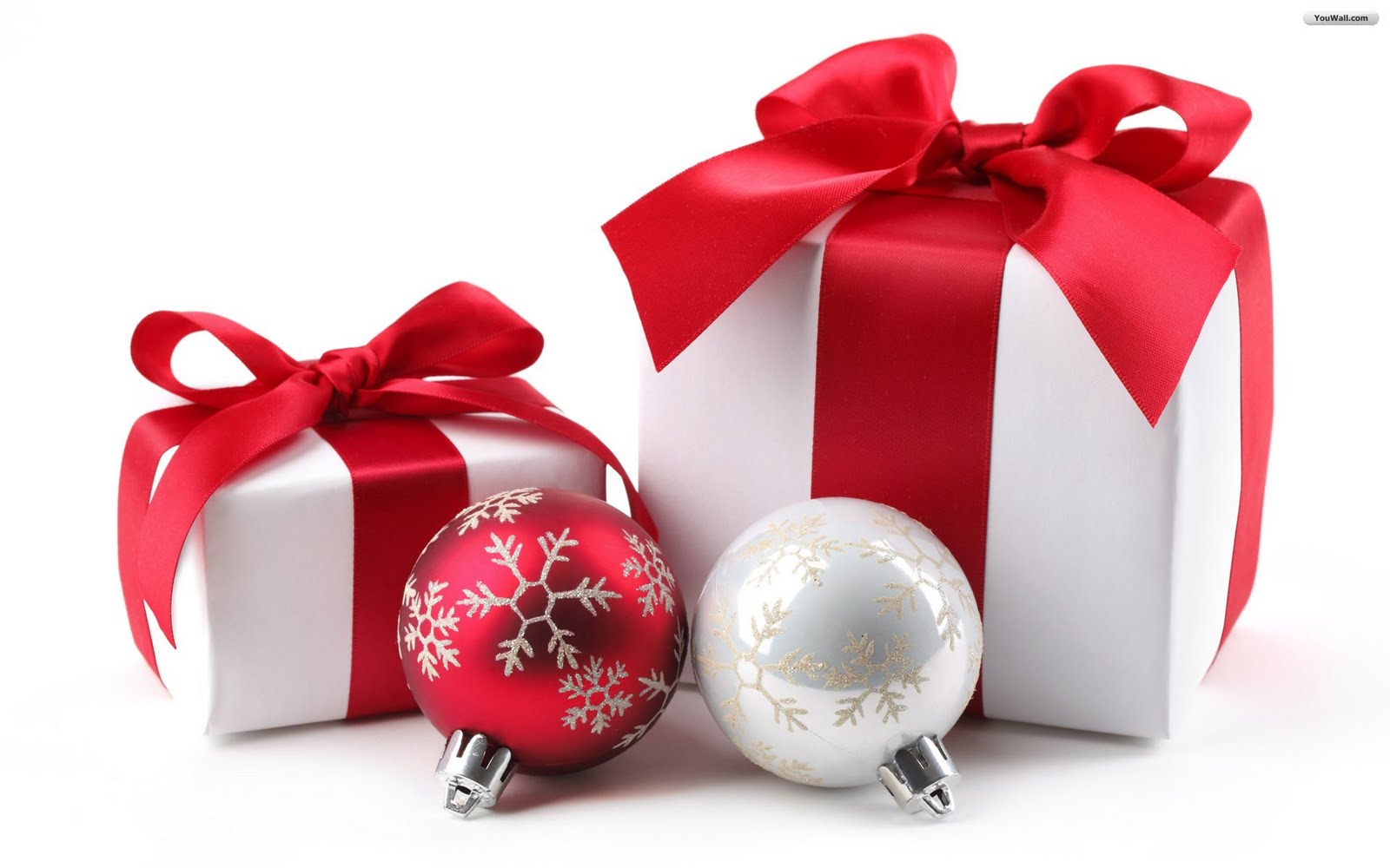 Wallpapers Background: Christmas Gifts Wallpapers