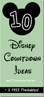 10 Disney Countdown Ideas