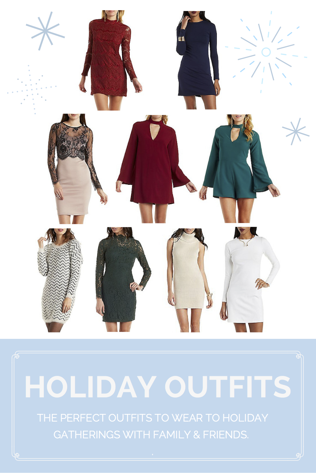9 Holiday Outfits to Dazzle In