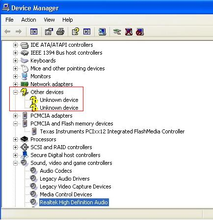 Unknown Device Driver Windows 7 64 Bit Asus idea gallery