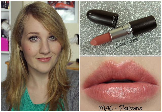 MAC Patisserie lipstick swatch