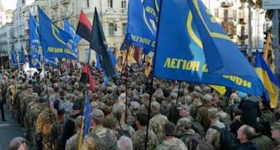 В центре Киева состоялся марш в честь дня создания УПА