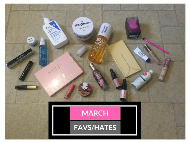 march hits, march 2017 favorites, cera ve, accutane 2017, accutane treatment, sephora 2017, ulta 2017