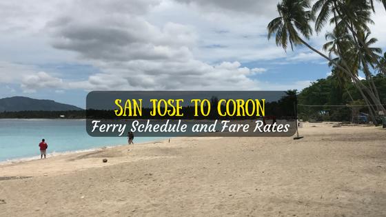 San Jose to Coron Ferry Schedule
