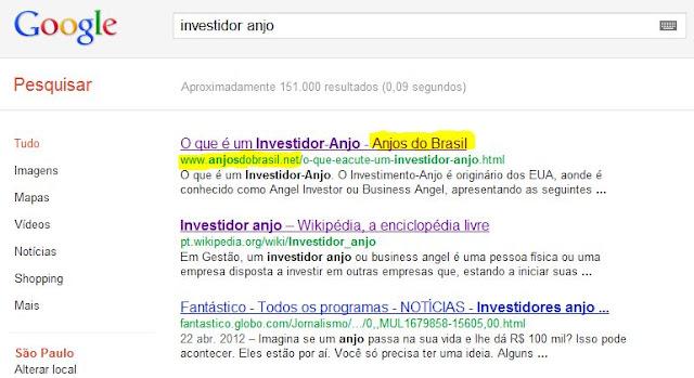 5cc2f9e13 Blog da Anjos do Brasil  Anjos do Brasil no topo do Google