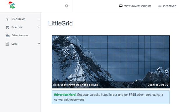 LittleBux - littlegrid de anuncios PTC