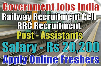 Railway RRC Recruitment 2019