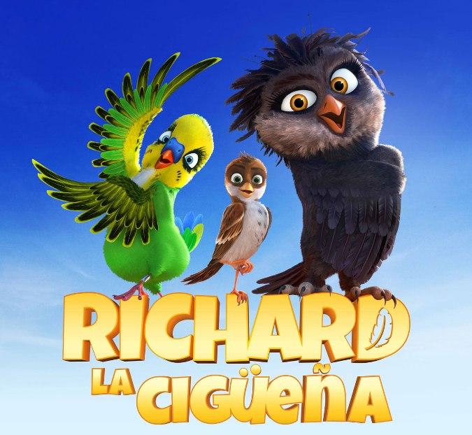 Pelicula de animacion infantil: Richard la cigüeña