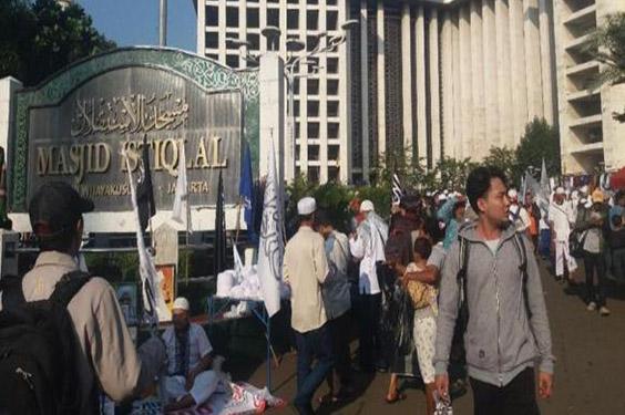 Pengancam Bom Mesjid Istiqlal Telah Berhasil di Bekuk