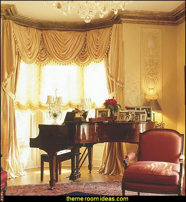 The Window Decorating Book  window treatments - curtains - window decorations - sheers - Drapes & Valance Sets - ruffled curtains - cornice - window murals - do-it-yourself window ideas - Room Dividers