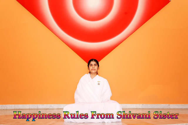Happiness Rules From Shivani Sister