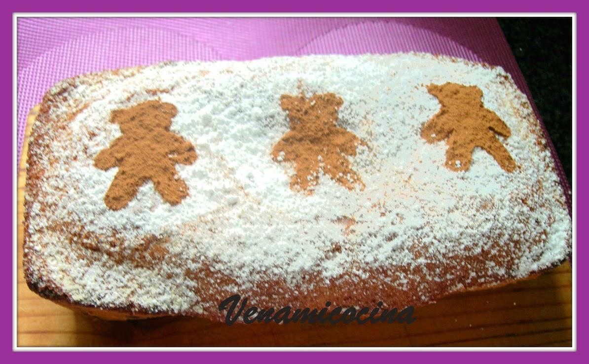 CAKE DE CALABAZA Y CHOCOLATE SIN GLUTEN