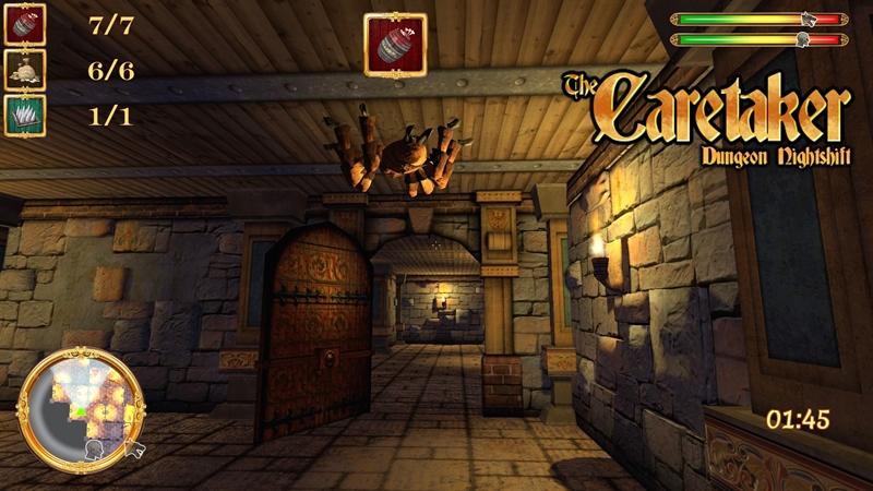 The Caretaker Dungeon Nightshift Download Poster