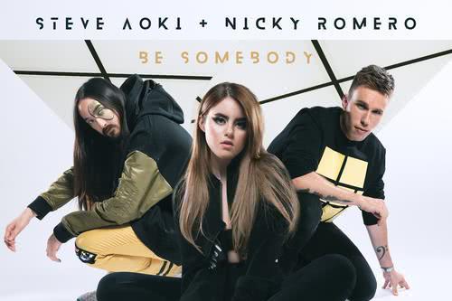 Steve Aoki, Nicky Romero, Kiiara - Be Somebody - Lirik Lagu Terjemahan