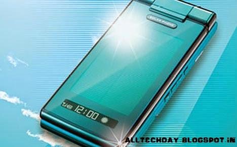 Smartphone solar charging image