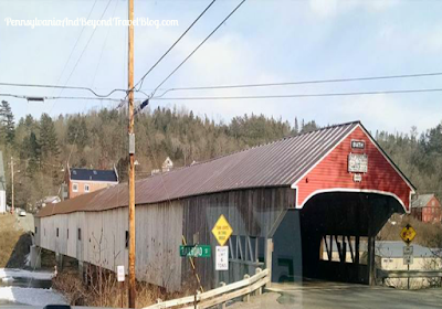 Bath Covered Bridge in New Hampshire