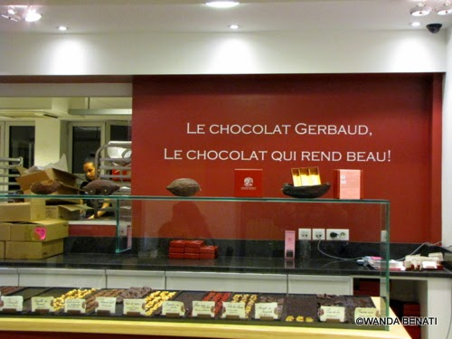 Bruxelles, Chocolaterie Gerbaud