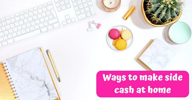 Ways to make side cash online