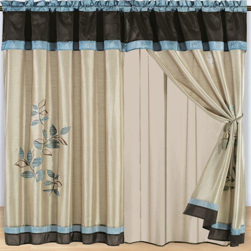 New Home Designs Latest.: Home Curtain Designs Ideas
