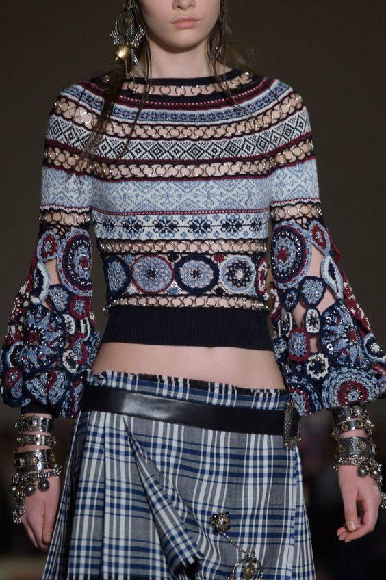 na drutach i szydelkiem