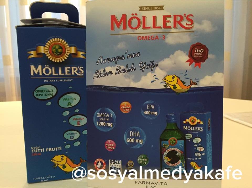 Möller's Omega sponsor hediyesi 8 mart bursa hilton blogger buluşması