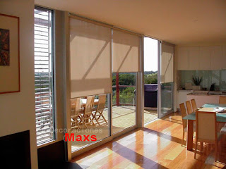 cortinas roller screen.