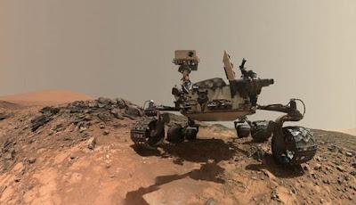 Curiosity milik NASA di planet Mars