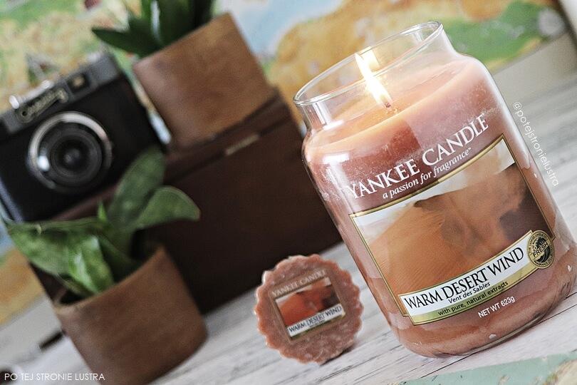 warm desert wind yankee candle świeca i wosk