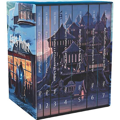 Box com os sete livros de 'Harry Potter' por apenas R$ 84,99 no Submarino | Ordem da Fênix Brasileira