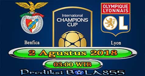 Prediksi Bola855 Benfica vs Lyon 2 Agustus 2018
