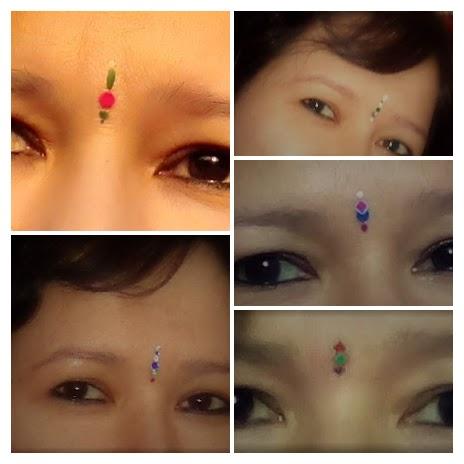 simple bindi designs