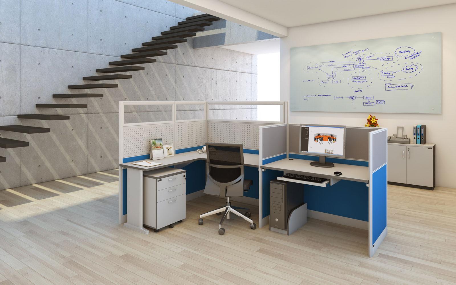 4 Tipe Meja Kantor dan Fungsinya 1